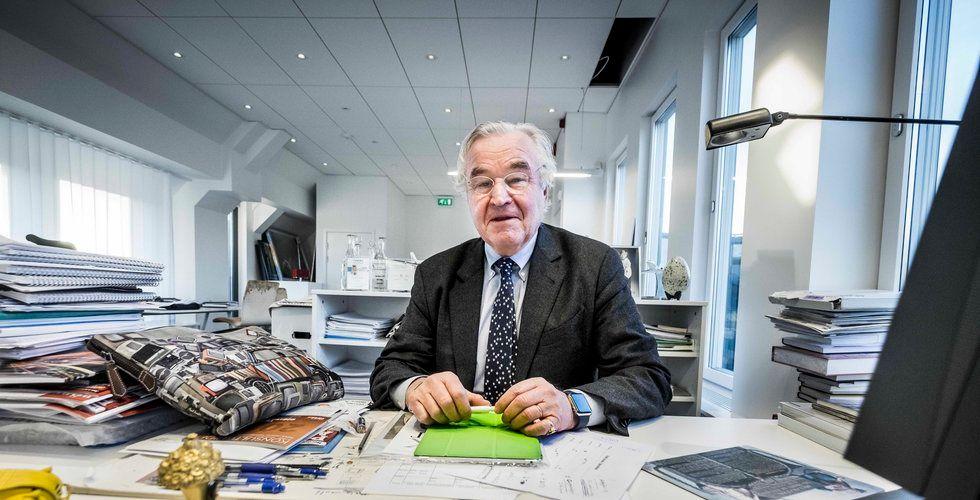 Sven Hagströmer blir kungen av klistermärken – grundarna cashar in en kvarts miljard