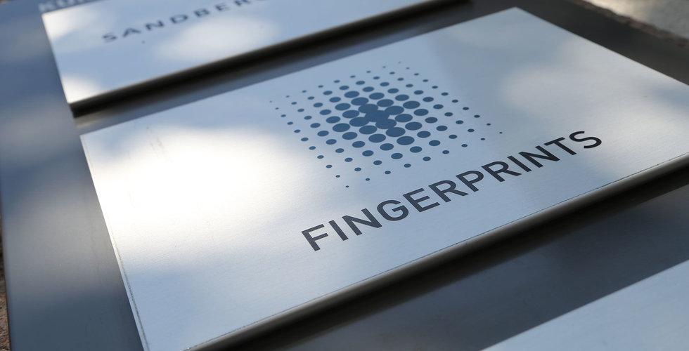 Fingerprint Cards teknik i världens första blockchaintelefon