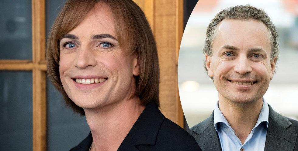 Caroline Farberger är första toppchefen i svenskt näringsliv som öppet berättar om könskorrigering