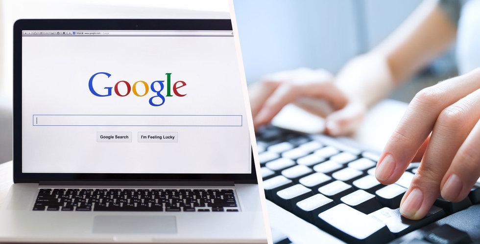 Breakit - Tusentals svenskar vill bli bortglömda på internet – ökning av kraven mot Google