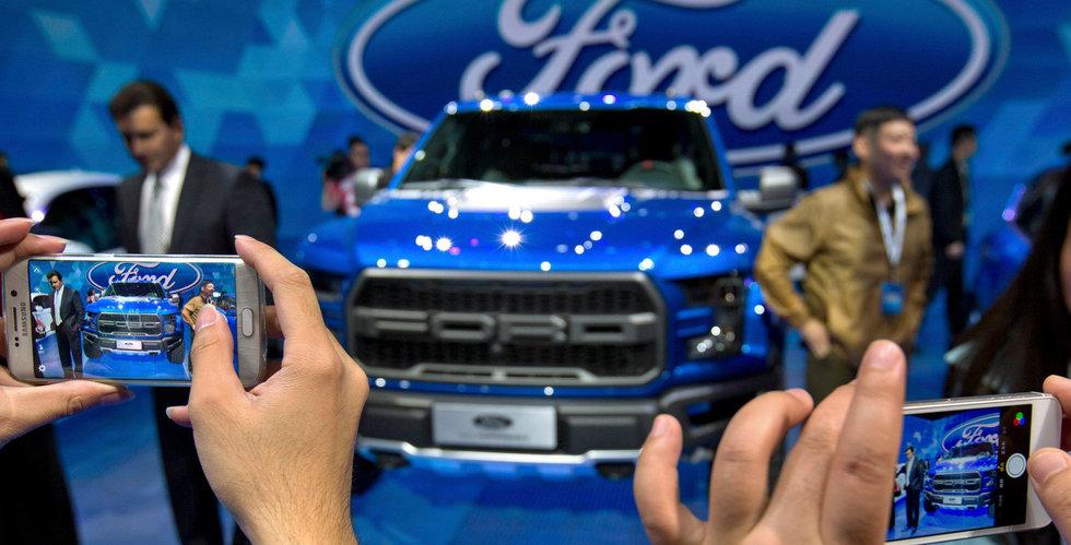Ford planerar mer än 50 nya bilmodeller i Kina fram till 2025