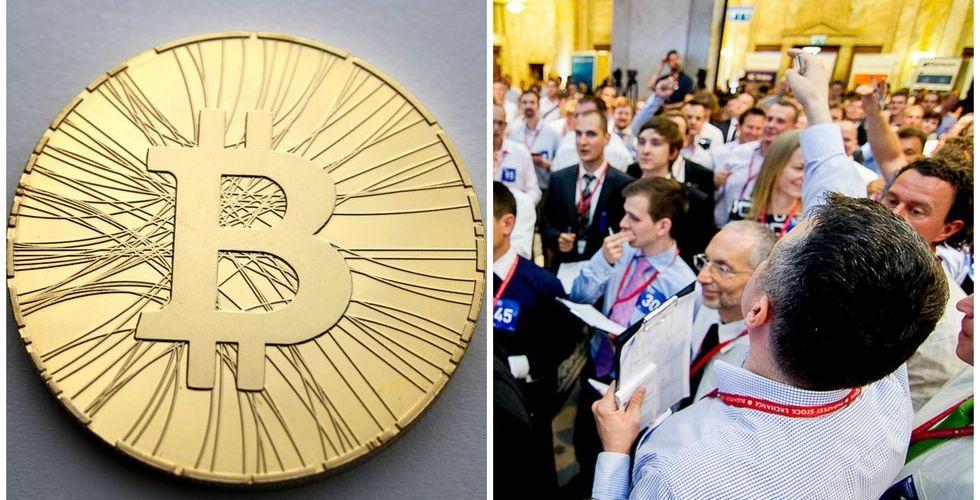 Snart kan vem som helst handla bitcoin på Stockholmsbörsen