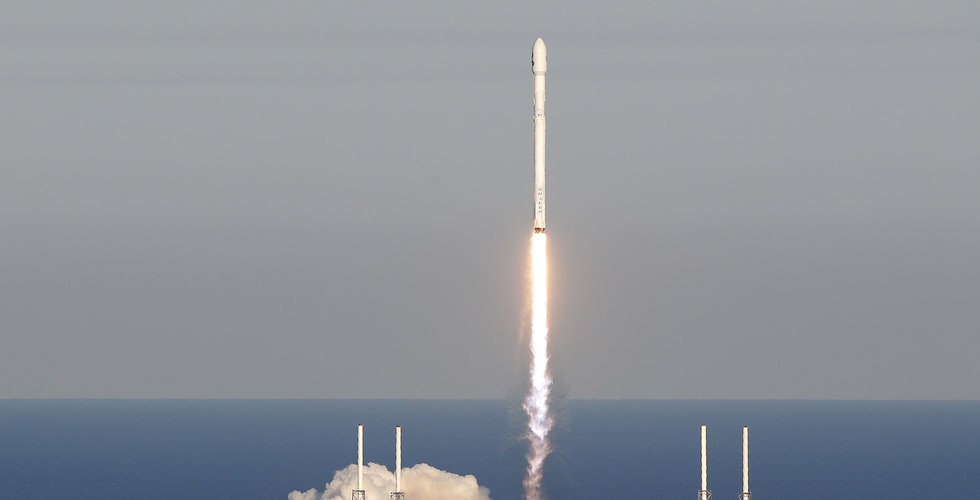Musks rymdprojekt SpaceX lyckades med uppskjutning av Nasa-satellit
