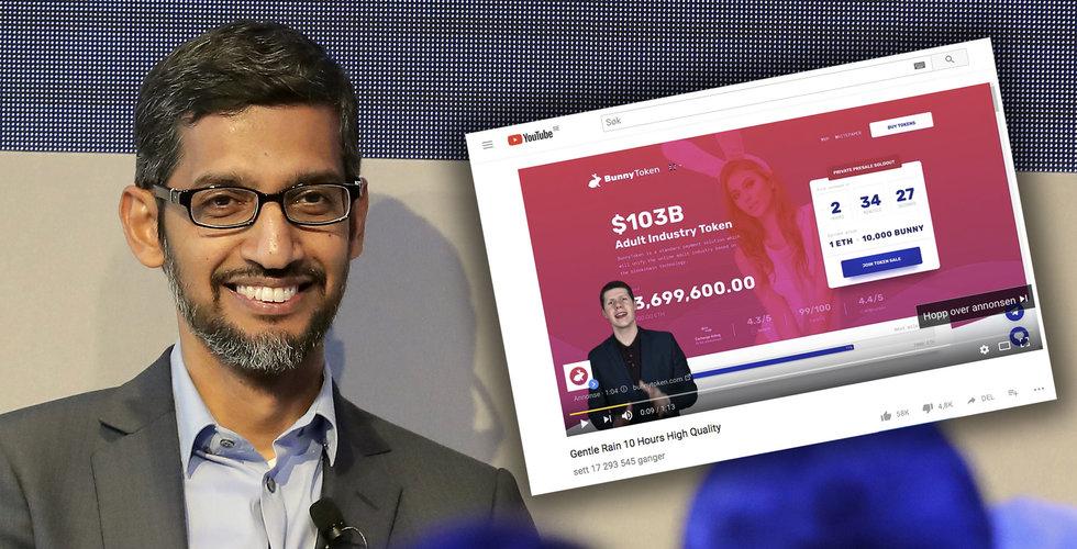 """Breakit - Google blockar alla kryptovalutor – nu får jag """"porrcoin""""-annonser"""
