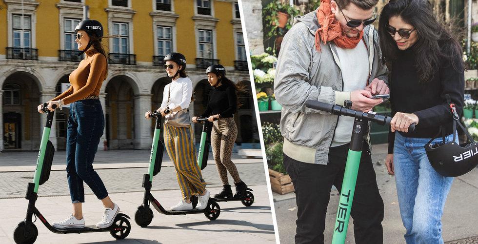 Tier lanserar i Sverige – rullar in i Stockholm, Göteborg och Malmö