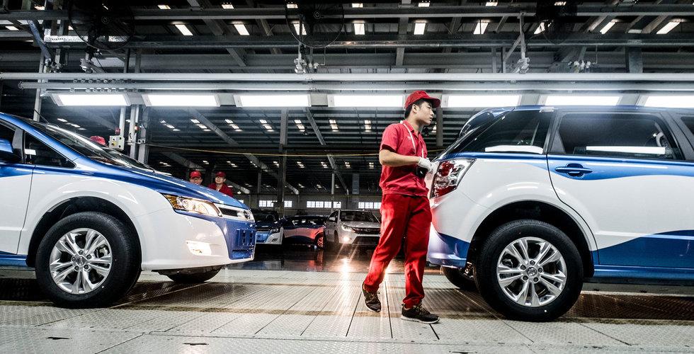 Breakit - Kina på väg att minska subventioner för elbilar redan nästa år