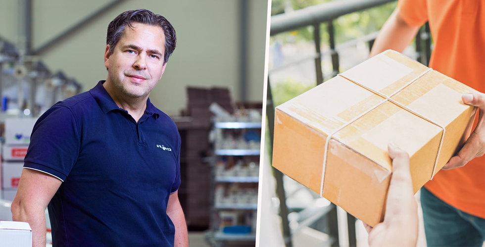 Nätapoteket Apotea i samarbete med Airmee för snabba leveranser