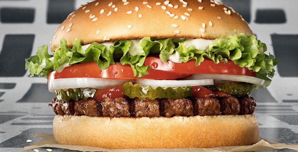 Burger King expanderar vegetarisk hamburgare i Europa