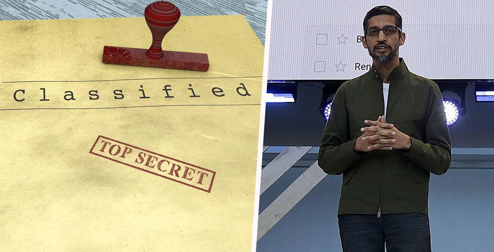 """Google har lanserat """"confidential mode"""" på bred front"""