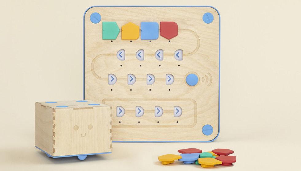 Trärobot som lär barn koda tar in miljonbelopp via Kickstarter