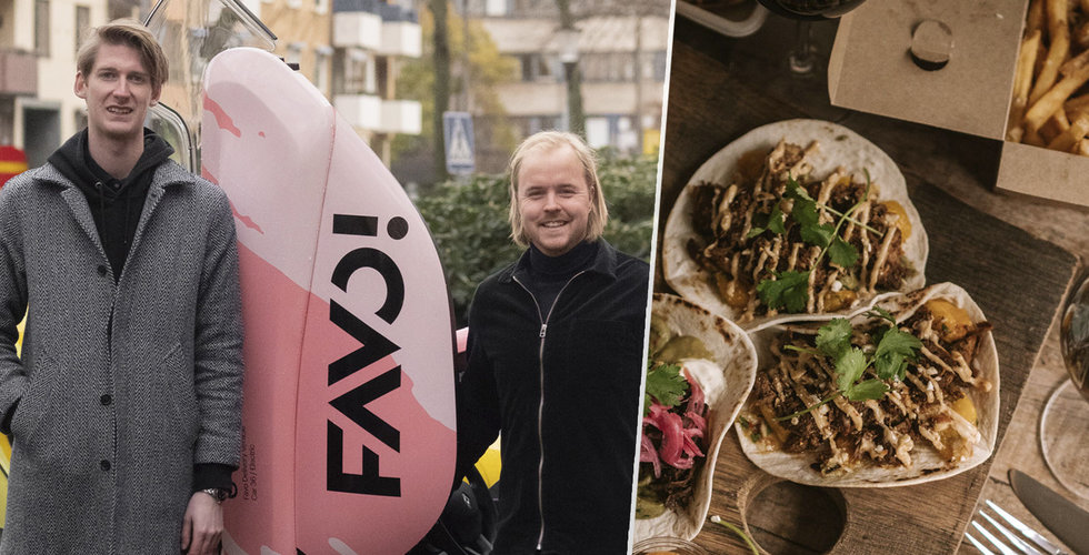 Favo ger sig in i matkriget – utmanar Uber Eats och Foodora.