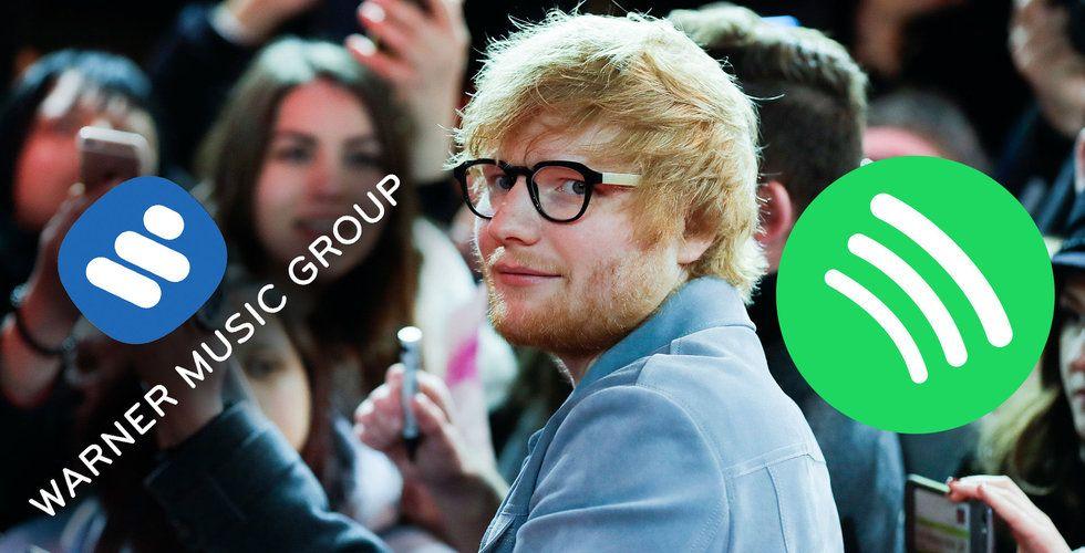 Warner Music gör som Sony – säljer majoriteten av sitt innehav i Spotify