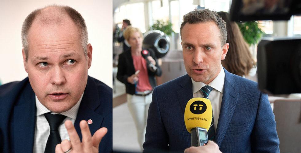 """Han anmäler ministern – för svängningen i """"ödesfrågan för internet"""""""