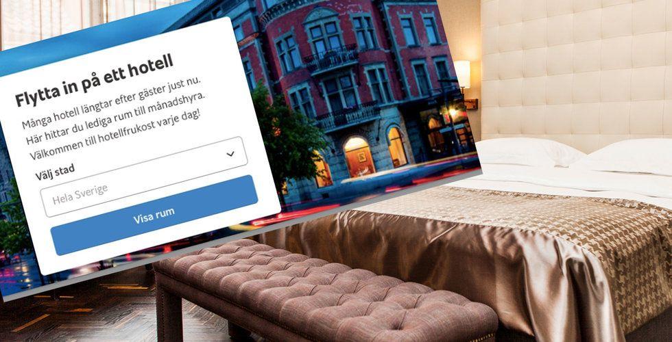 Hotellkedjan Elite vill rädda jobben genom samarbete med Blocket bostad