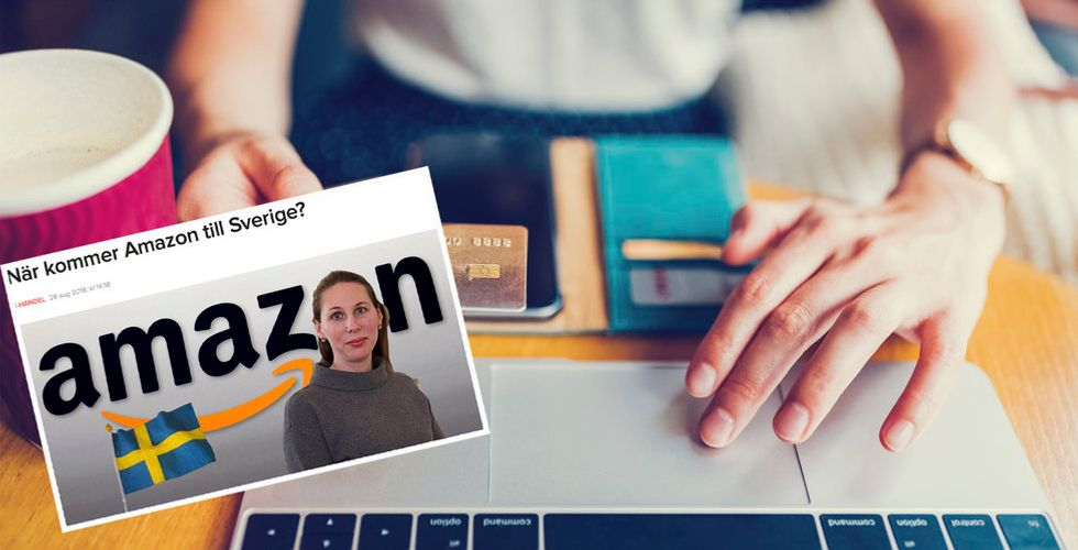 Källa: Amazons lansering i Sverige kan dröja