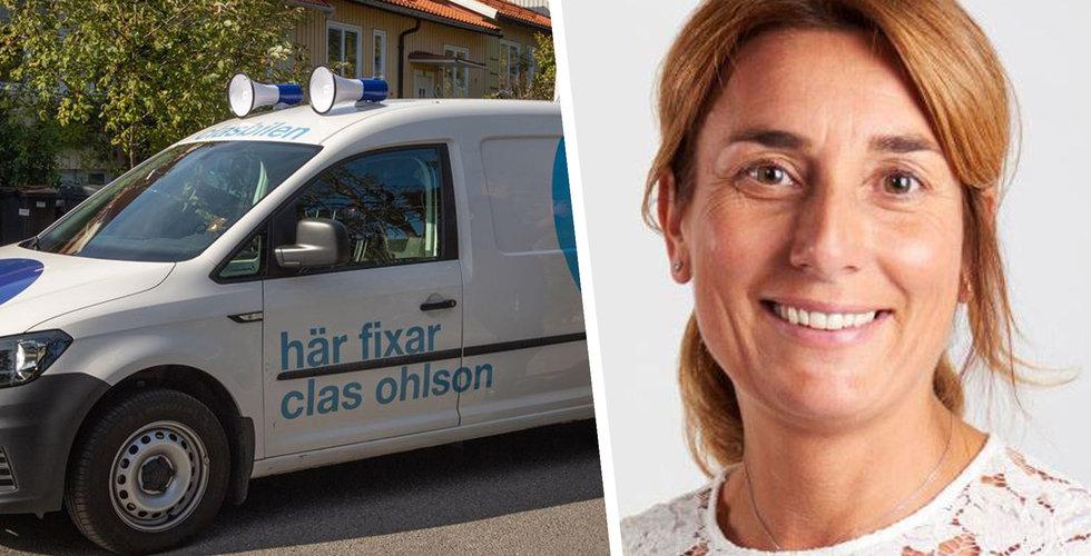 Clas Ohlson utmanar glassbilen – lanserar Clasbilen