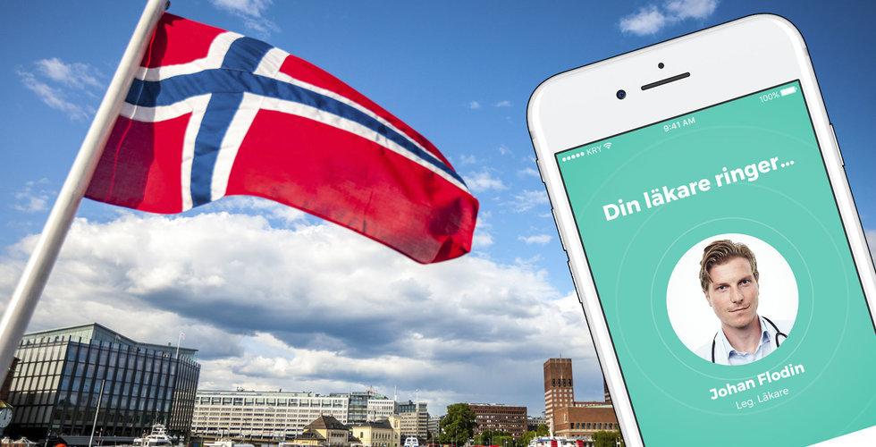 Kry vill erövra Norge – men läkarförbundet sätter sig på tvären