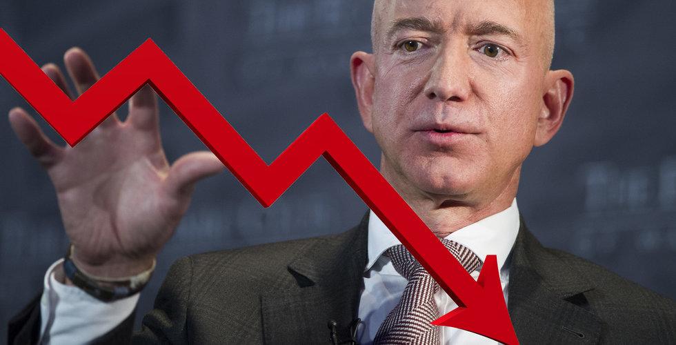 Jeff Bezos i intervju: Amazon kommer att gå i konkurs