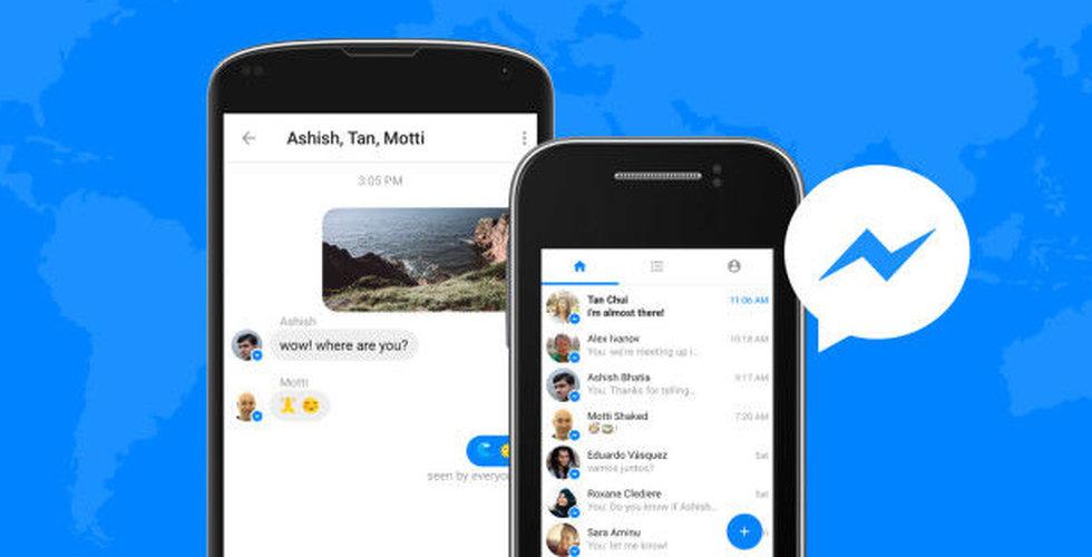 Facebooks Messenger Lite har släppts i fler länder