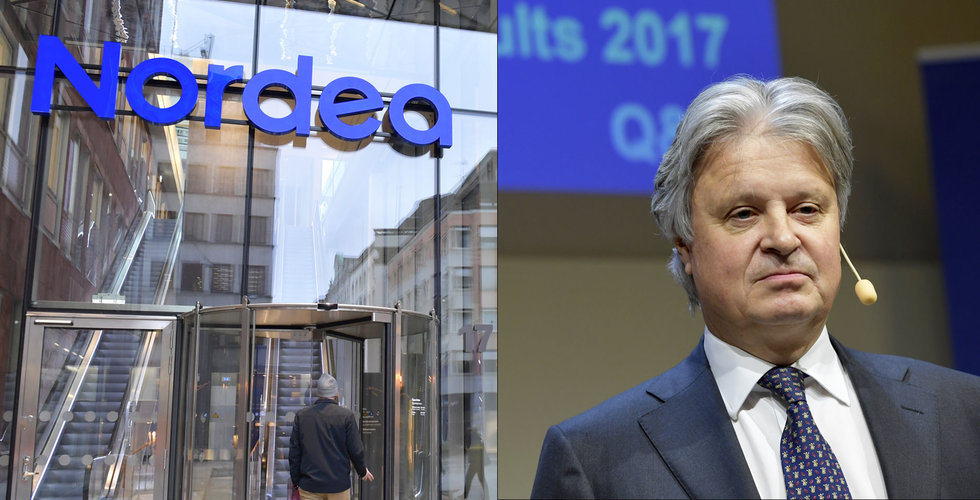 Nordeas aktie rasar efter uppgifter om penningtvätt