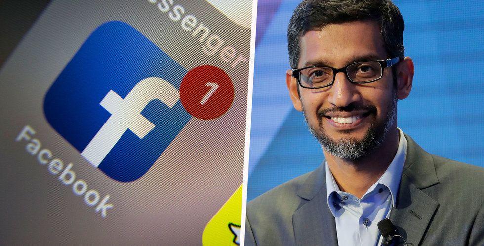 Breakit - Google och Facebook riskerar böter – dominerar för stort