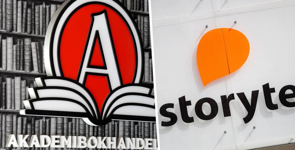 Akademibokhandeln och Bokus lanserar ljudbokstjänst – ska utmana Storytel