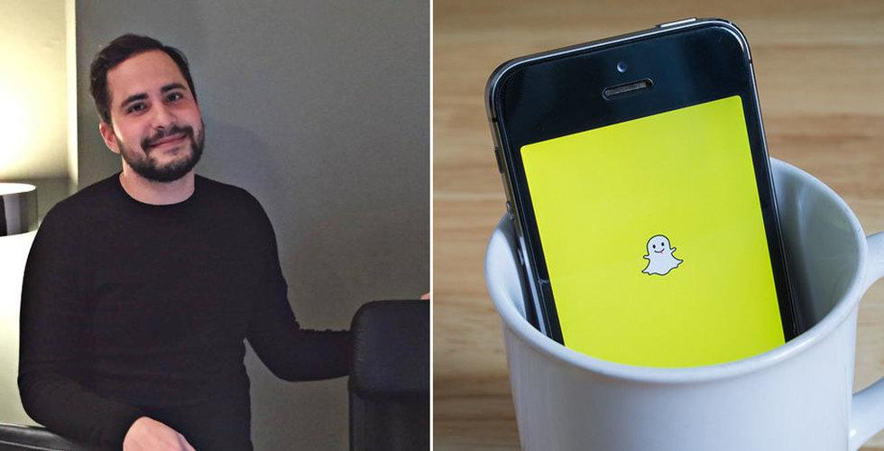 """""""Jag försökte köpa annonser på Snapchat – så krångligt var det"""""""