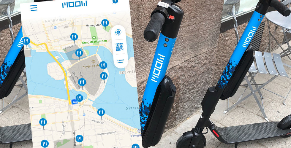 Moow lanserar i Stockholm – sparkcykelkriget trappas upp