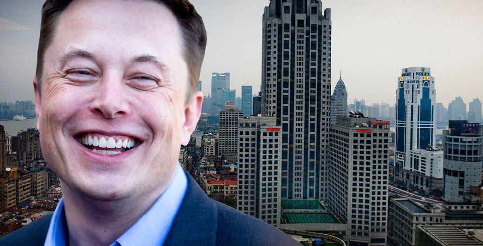 Breakit - Kolla! Blir Tesla först i världen med fabrik på jättemarknaden?