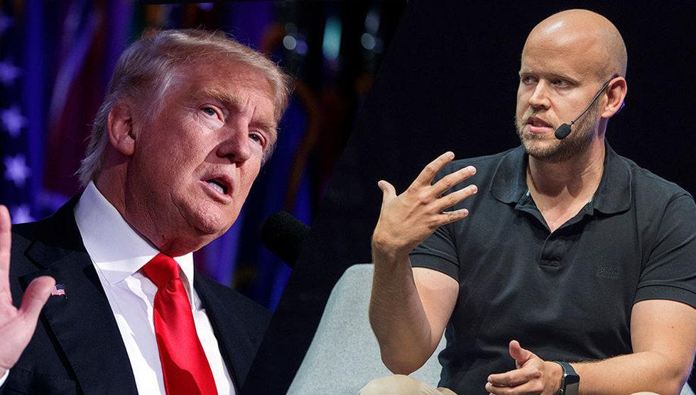 Breakit - Efter Trumps seger – Daniel Ek ifrågasätter USA:s valsystem