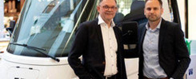 Inzile lanserar eldriven lastbil – ska minska utsläpp i staden