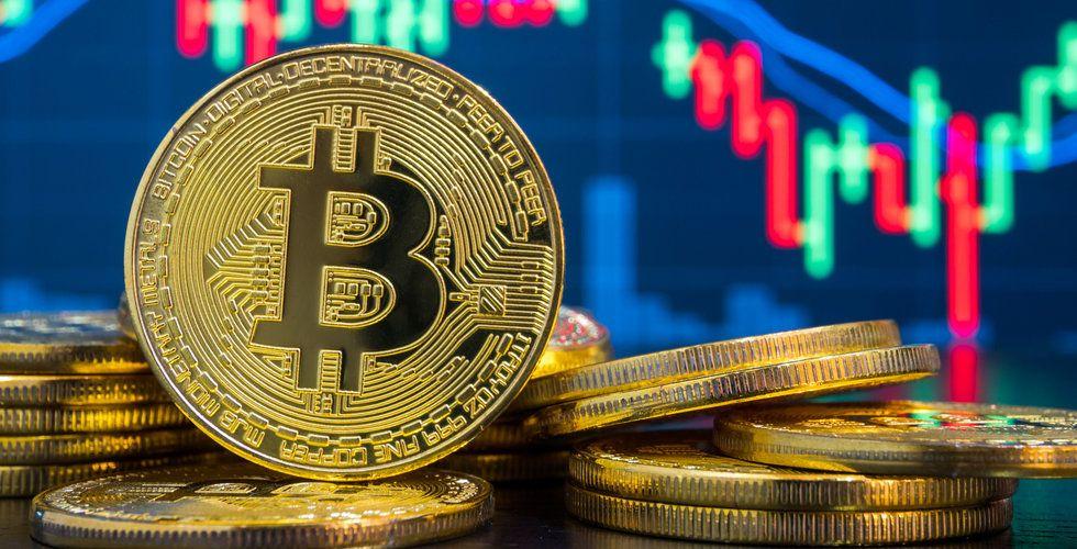 Bitcoin handlas runt nivån 10 000 dollar