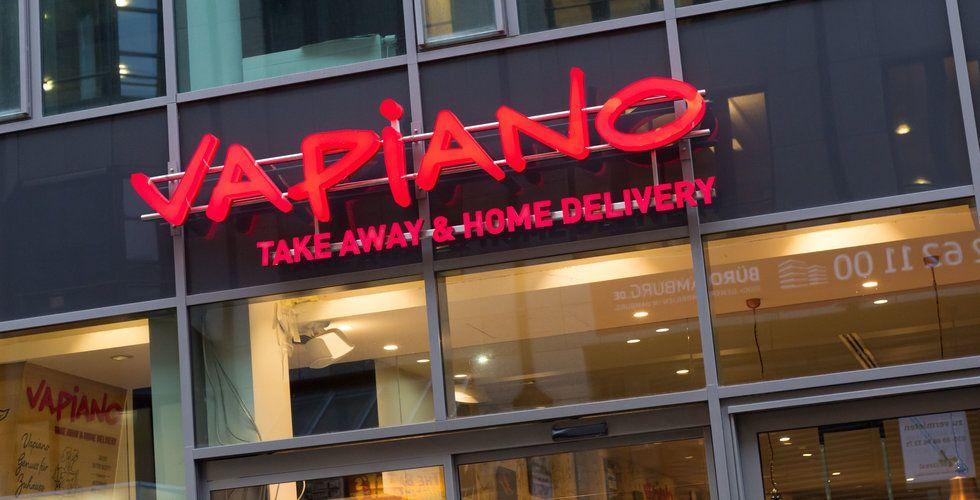Tre av Vapianos restauranger sätts i konkurs