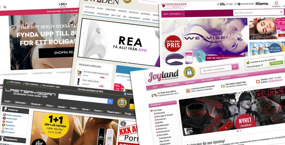 Lista: De är störst i Sverige på sexleksaker på nätet – här är bolagen som täljer guld