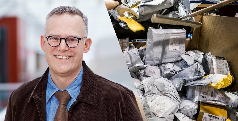 Postnord: Drastisk minskning av Kina-paket till Sverige