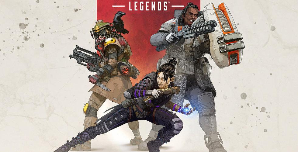 Skarp nedgång för Apex Legends i mars – intäkterna föll med en halv miljard