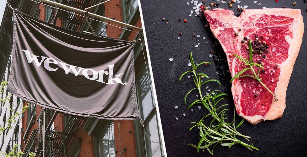 Kontorshotellet Wework förbjuder kött på event och i kafeterior