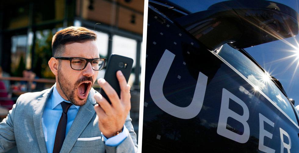 Storförlust för Uber – aktien faller
