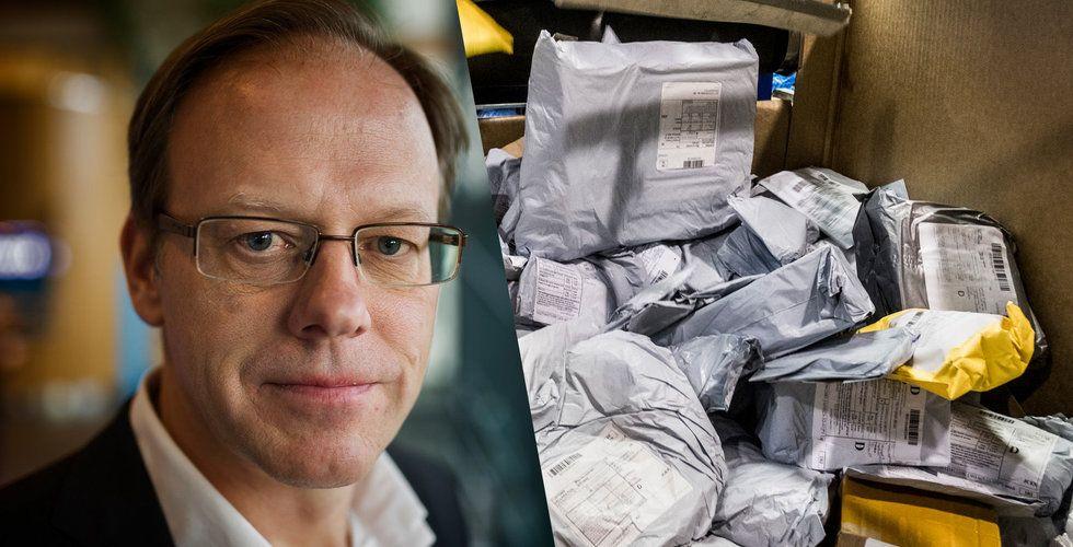 """Breakit - Postnords vd Håkan Eriksson: """"Vi har ett imageproblem"""""""