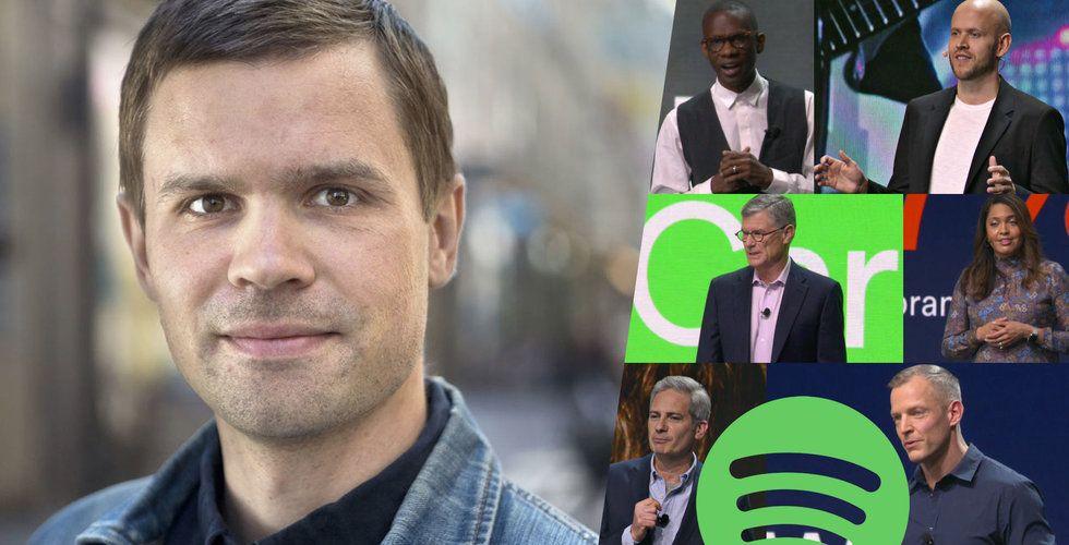 """Spotifys """"succénotering"""" har en baksida som alla verkar blunda för"""
