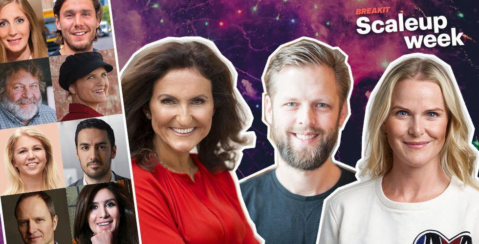 Från Torsten Jansson till Gunilla von Platen – här är stjärnentreprenörerna du får träffa på Scaleup week
