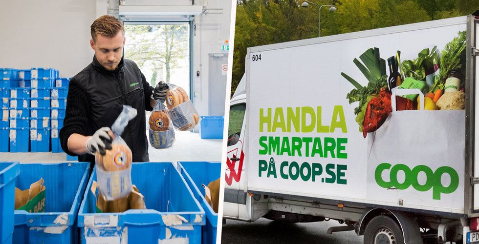 """Rusning till matbutiken efter coronaviruset – uppsving för e-handlare: """"Bästa veckan i år"""""""
