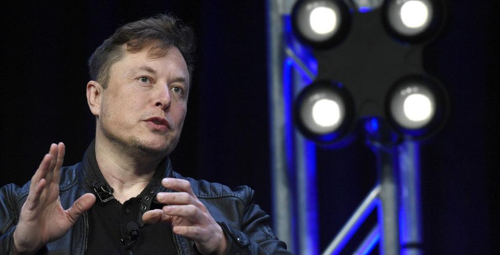 Elon Musk twittrar om potentiell genombrott
