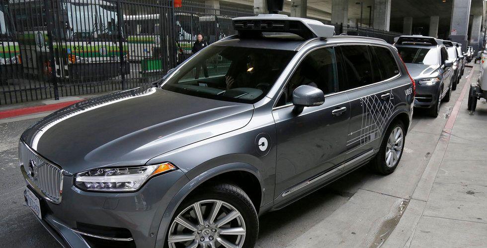 Breakit - Ubers självkörande Volvo i dödsolycka i USA