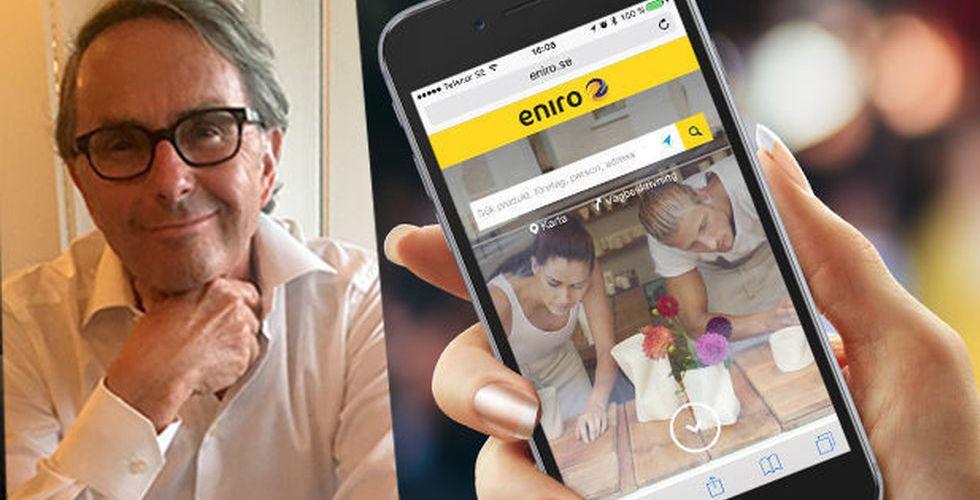 Staffan Persson: Min investering i Eniro var ett oskönt magplask