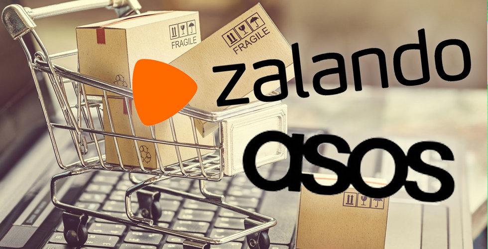 Zalando och Asos för stora – kommer inte kunna fortsätta växa