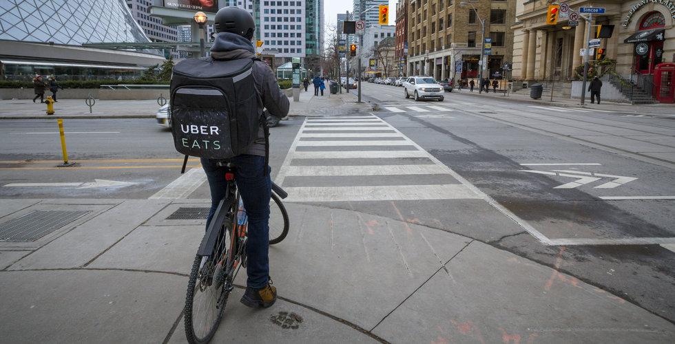 Uber sänkte brittiska cykelbuds löner – utlöser strejk