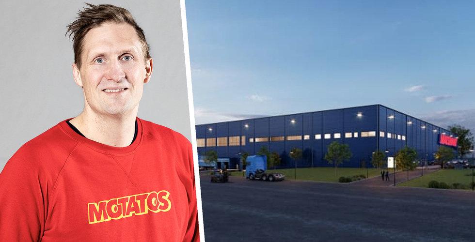 """Matsmart satsar 140 miljoner på att bygga nytt robotlager: """"Dags att växla upp"""""""