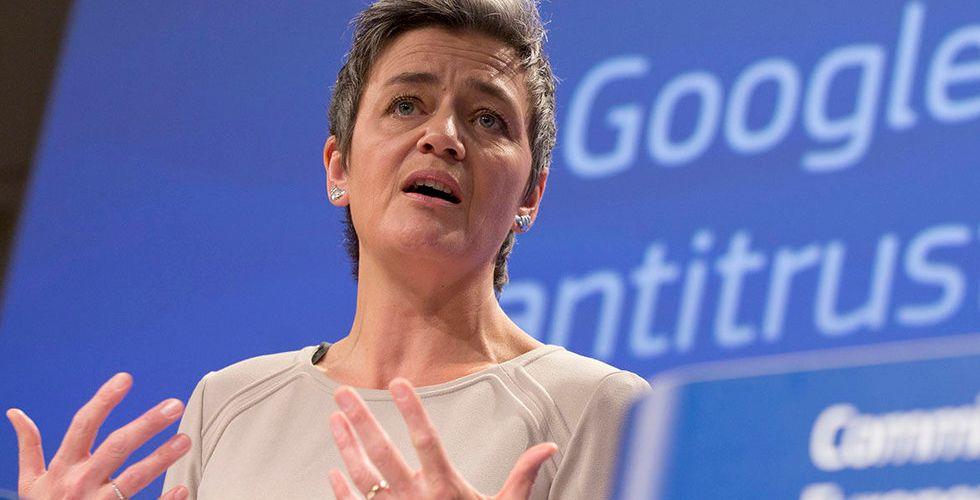 Därför kan EU-kommissionen kräva 60 miljarder kronor av Google