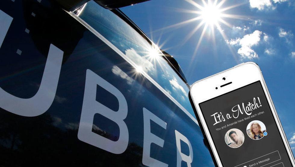 Så många (få?) använder sig av Uber, Airbnb och Tinder i Sverige